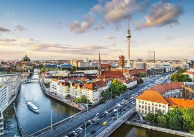 Berlín, Capitales del Este y Rusia